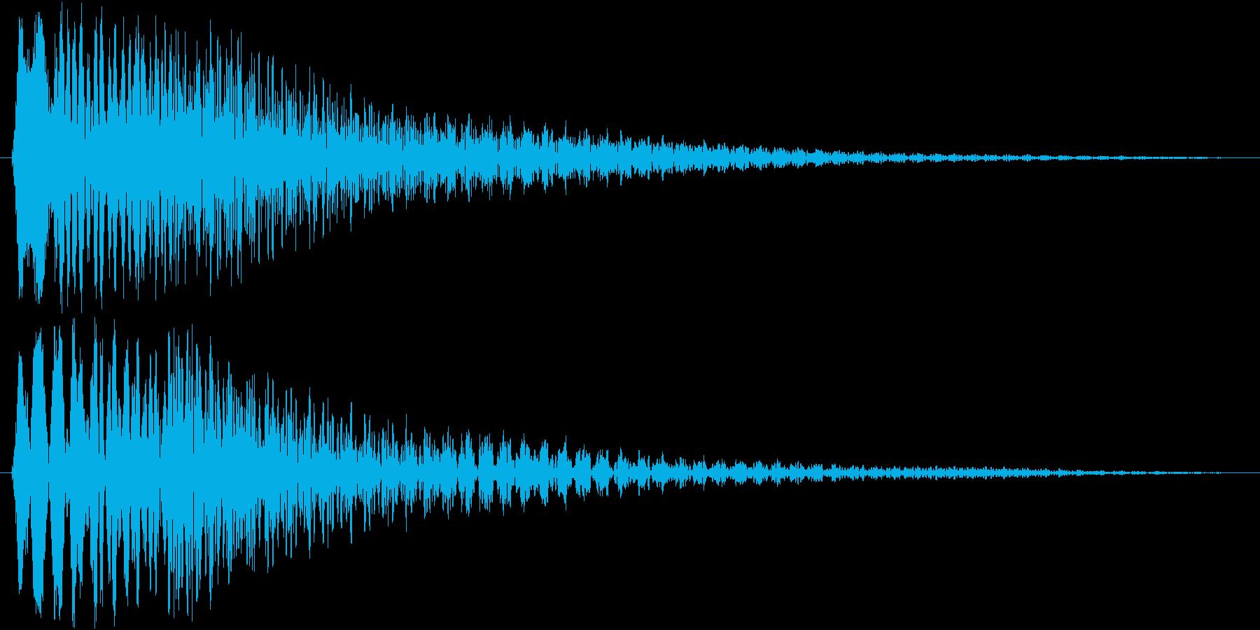 トゥルリローン(ハープ系)の再生済みの波形