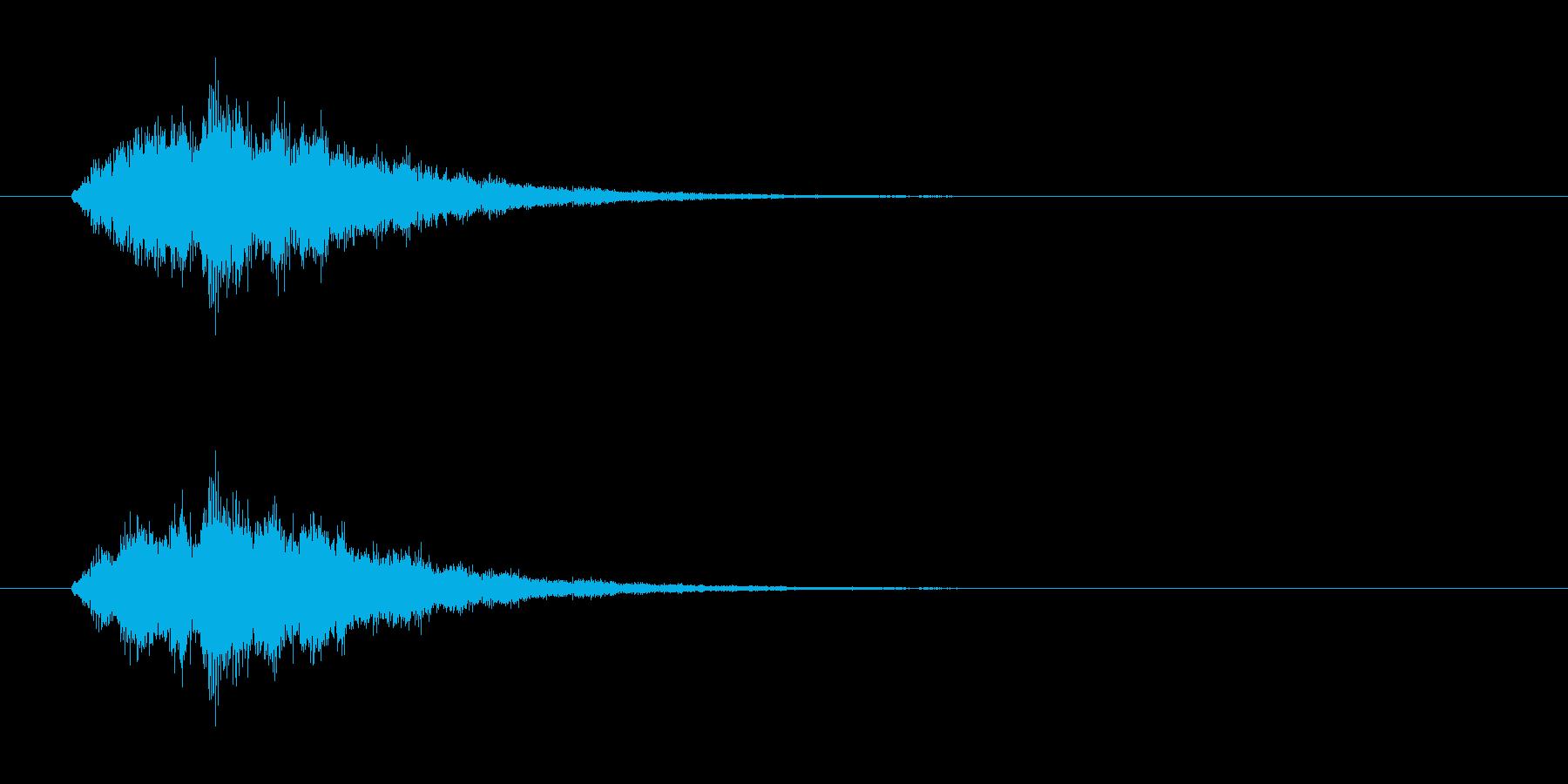 魔法_体力回復の再生済みの波形