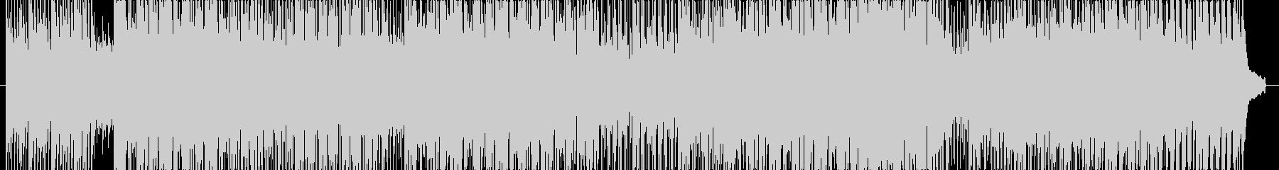 ほのぼのとした暖かいピアノメインのBGMの未再生の波形