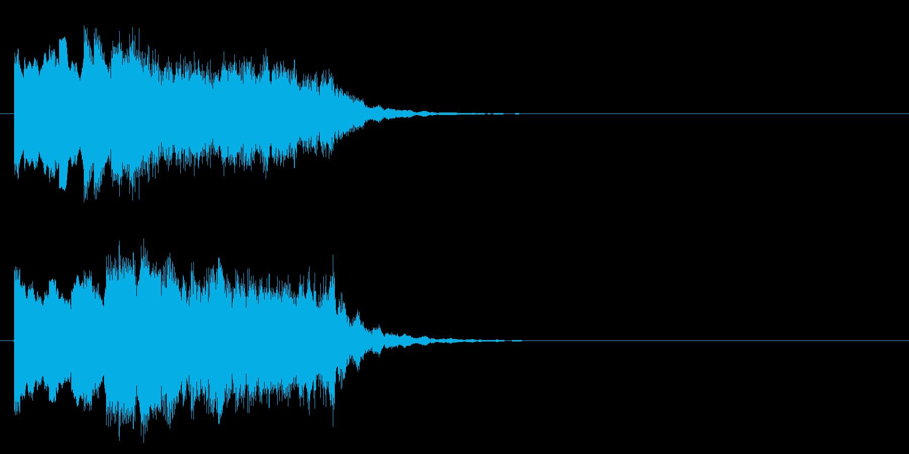 場面転換 しっとり 幻想 科学 不思議の再生済みの波形