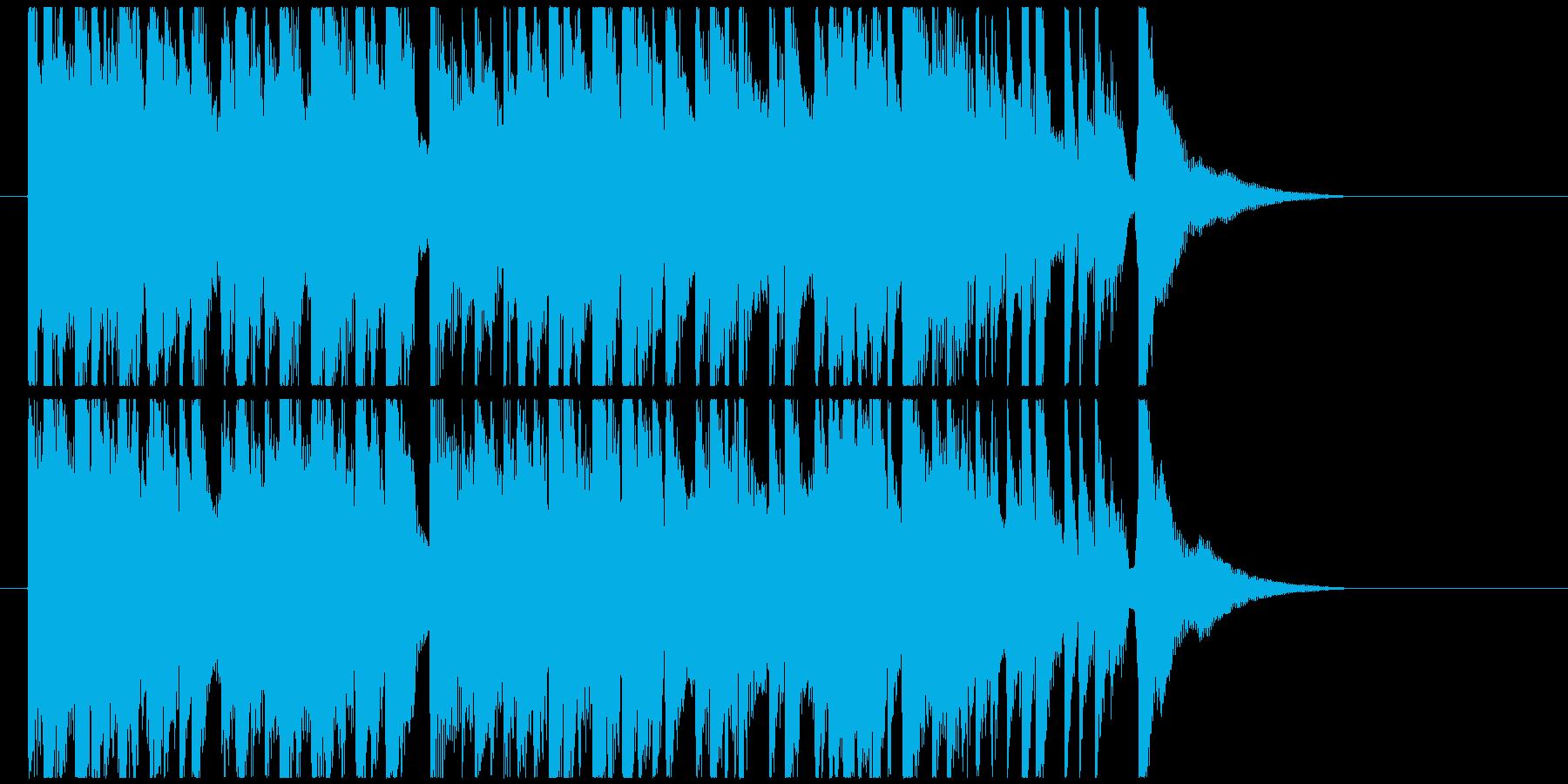 あったかい雰囲気のアコギの再生済みの波形