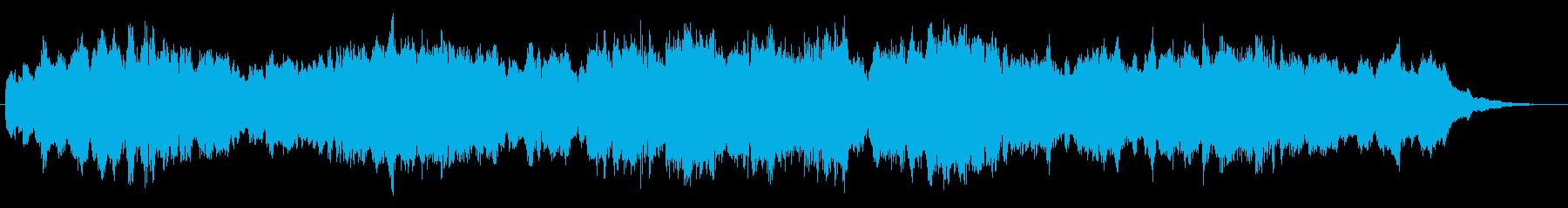 ほのぼのとしたオルガンのジングルの再生済みの波形