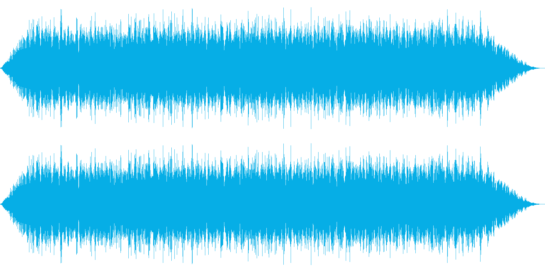 カエル/中距離/合唱(20秒Ver.)の再生済みの波形