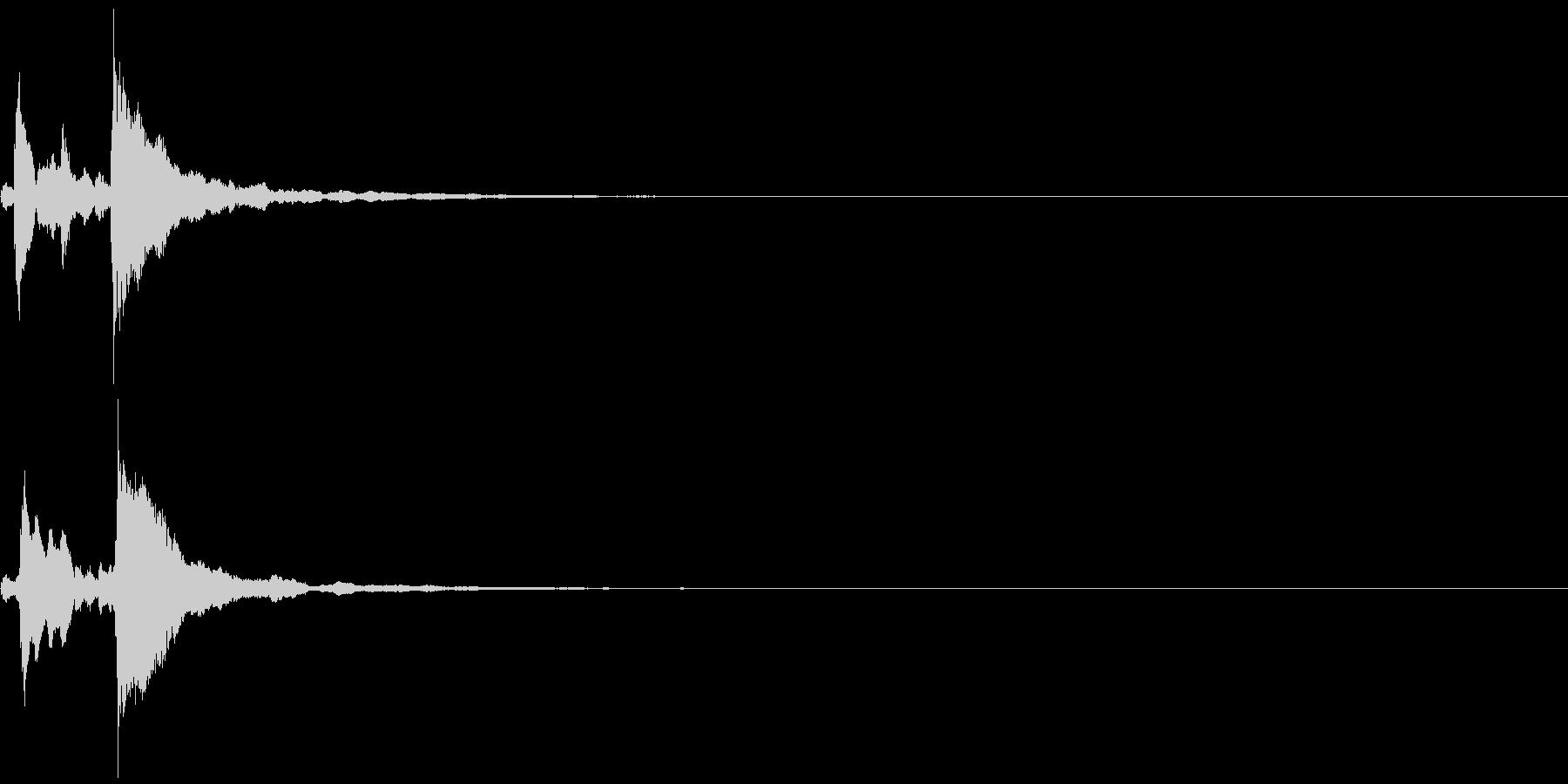 システム音31_シンセCHの未再生の波形