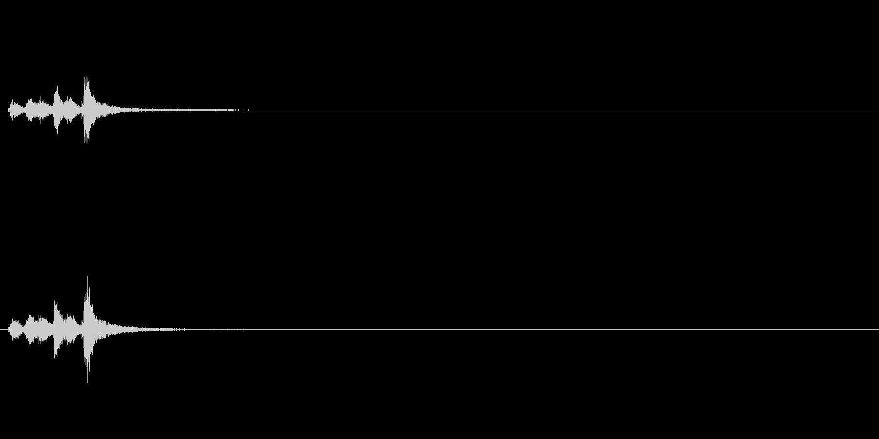 音侍「チャッパ」和製シンバルの単発音3の未再生の波形