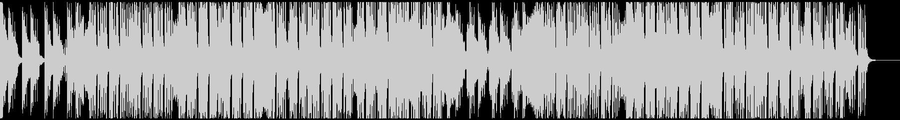 軽快で伸びのあるシンセのオシャレなEDMの未再生の波形