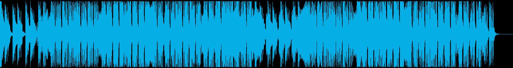軽快で伸びのあるシンセのオシャレなEDMの再生済みの波形