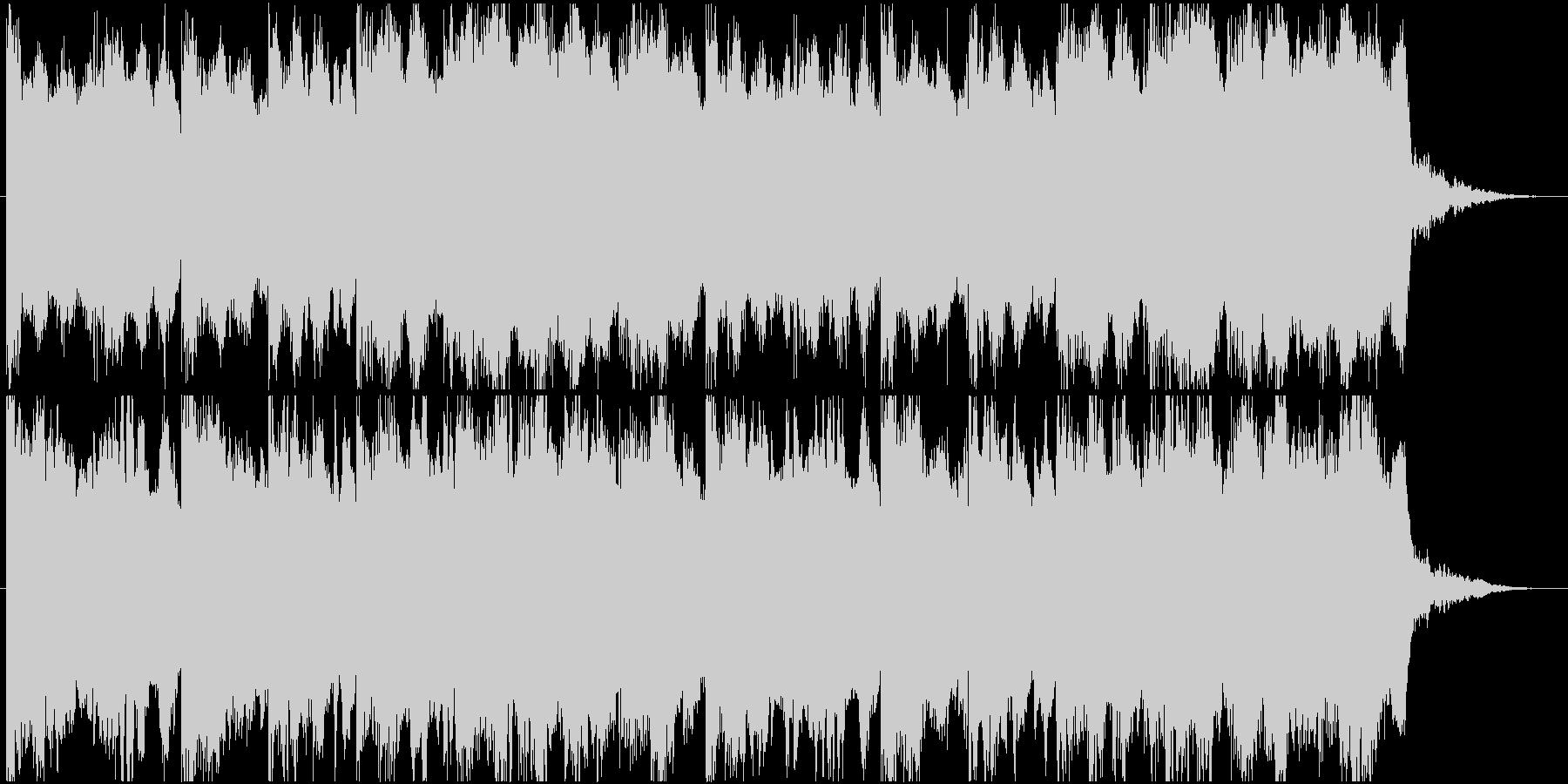 怪しい、怖いシーン用ショートインストの未再生の波形