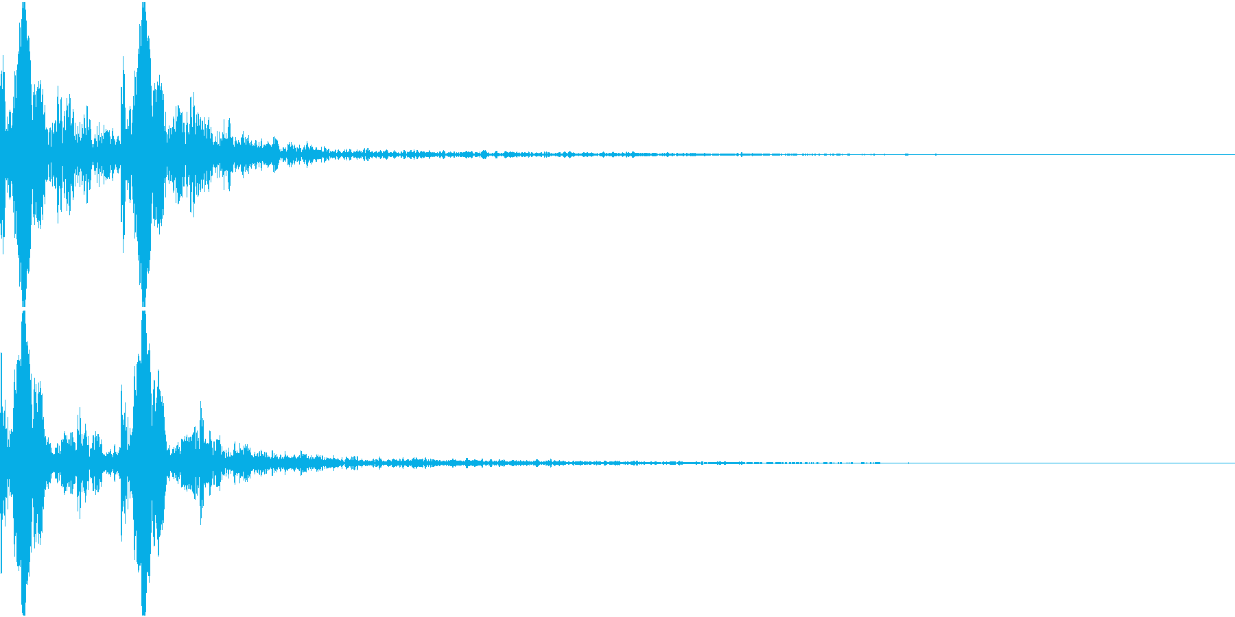 Acid ビチャっとしたコマンド音 の再生済みの波形