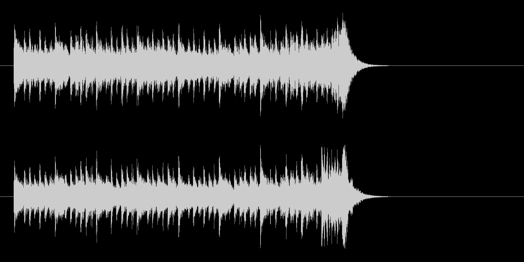 サイクリング向けポップス(イントロ)の未再生の波形