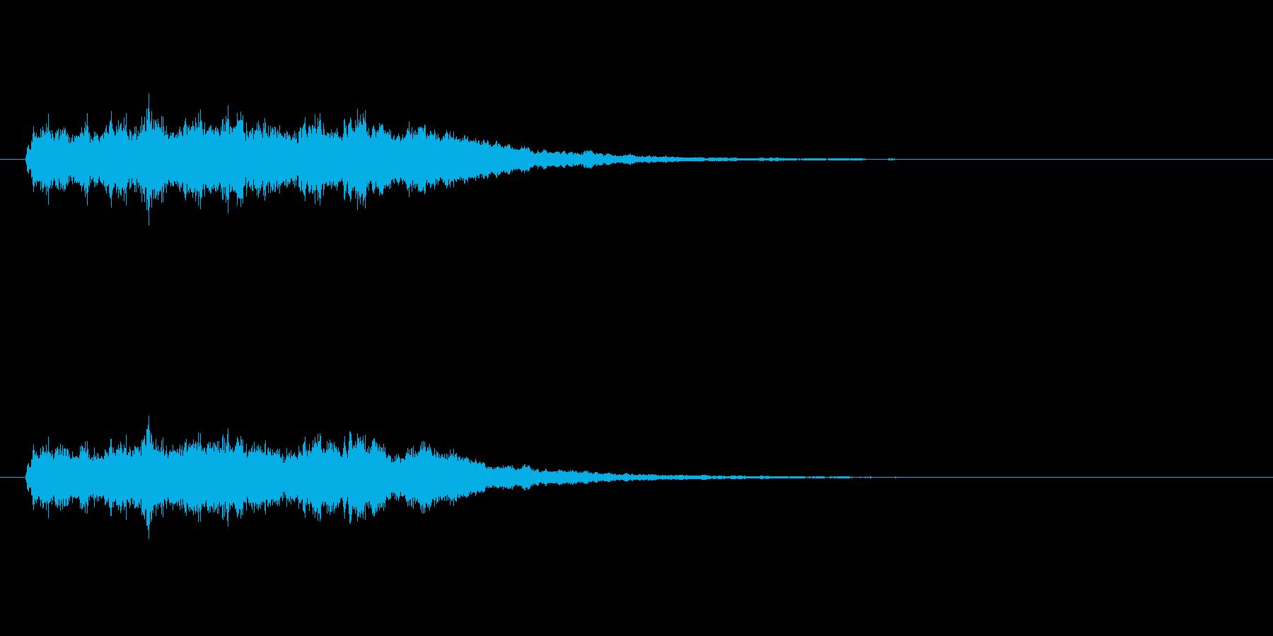 【競技用ゴング02-8】の再生済みの波形