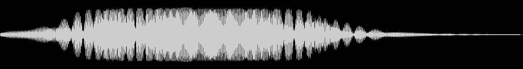宇宙船通過(ドップラー効果)の未再生の波形