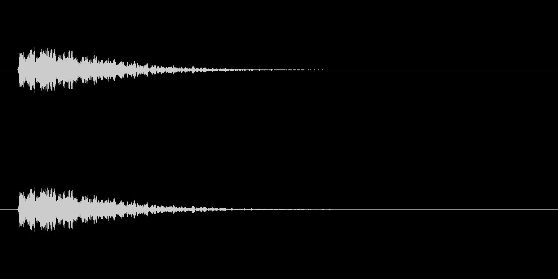 【光る06-1】の未再生の波形