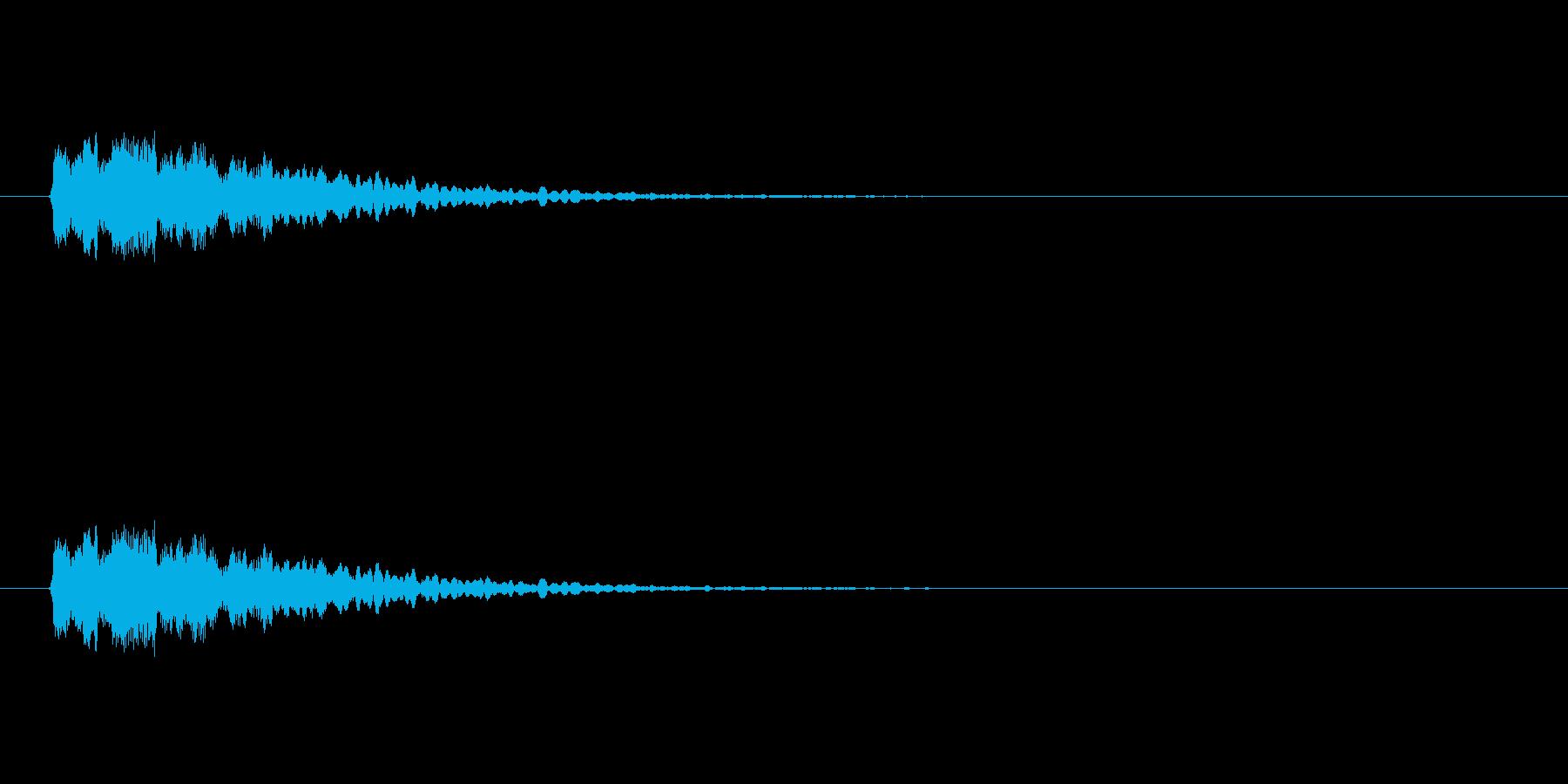 【光る06-1】の再生済みの波形