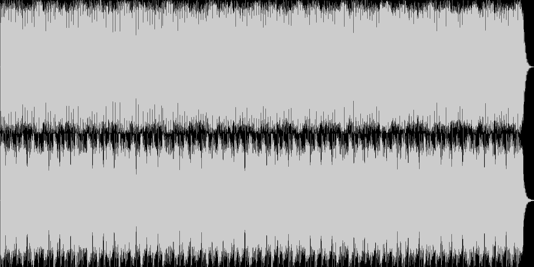 爽やかなナレーションバックサウンドの未再生の波形