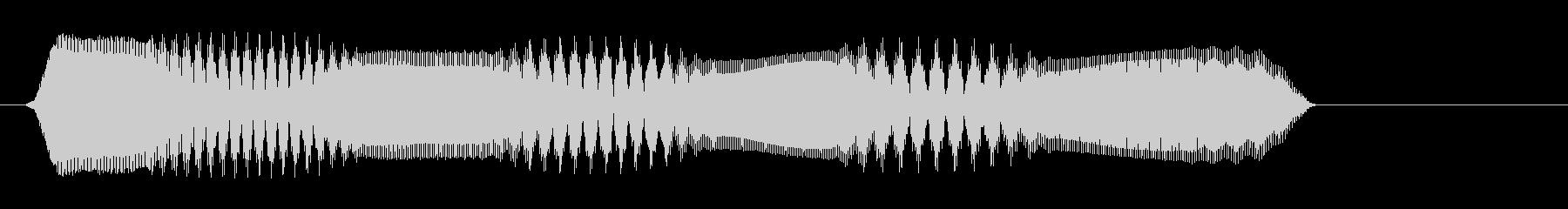 ピュロロ(高音 電子音)の未再生の波形