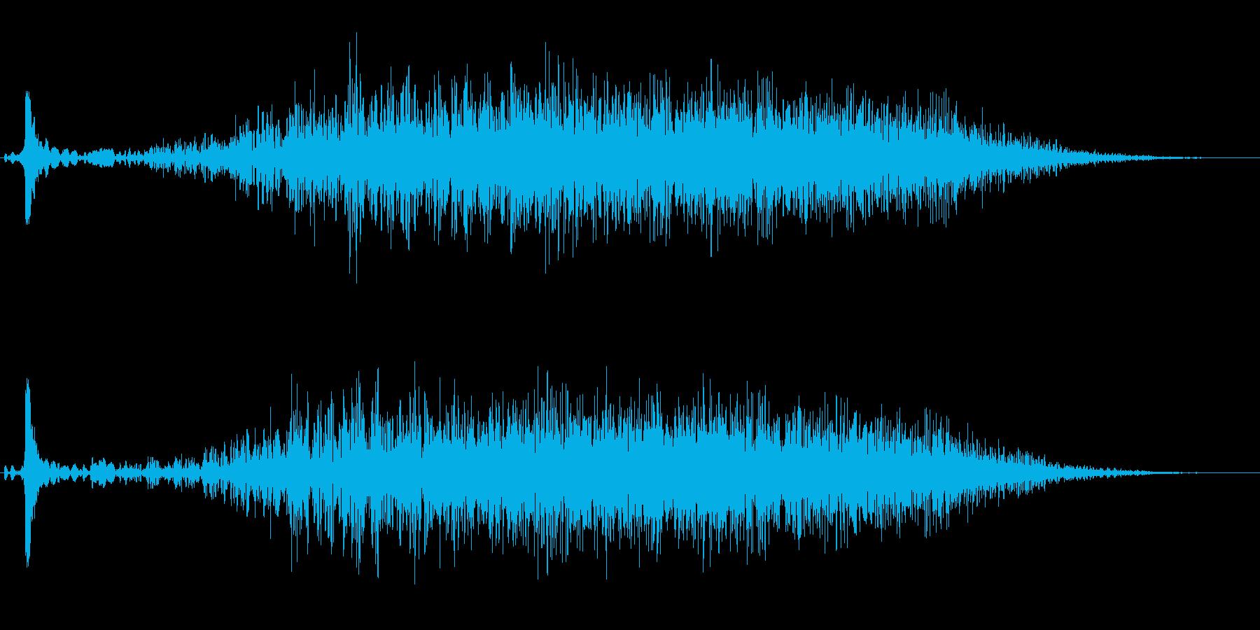 ギューーーン (充填音)の再生済みの波形