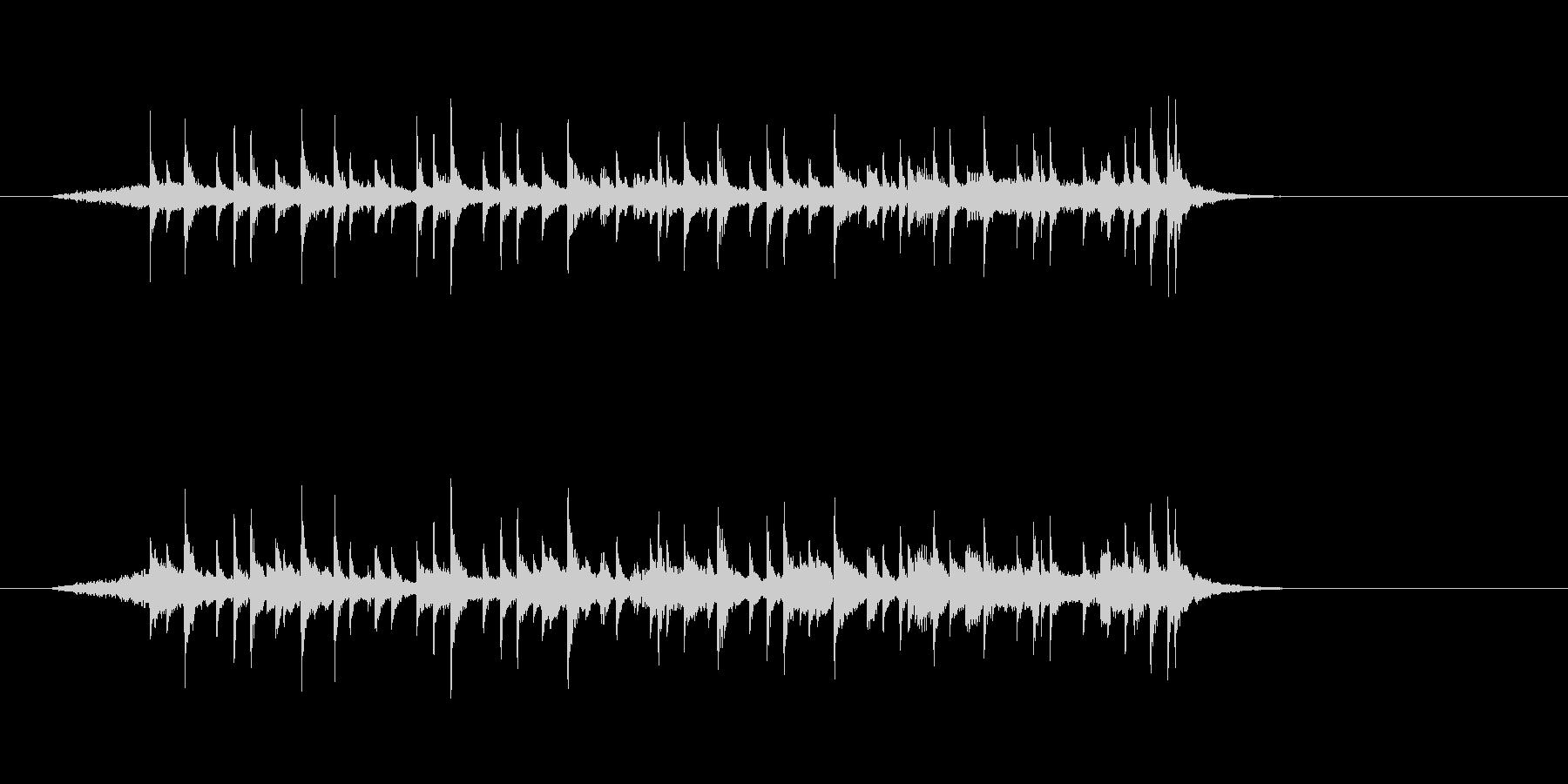 ジングル(メロディアスなフュージョン)の未再生の波形