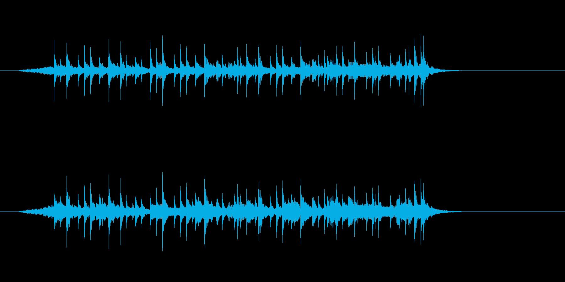 ジングル(メロディアスなフュージョン)の再生済みの波形