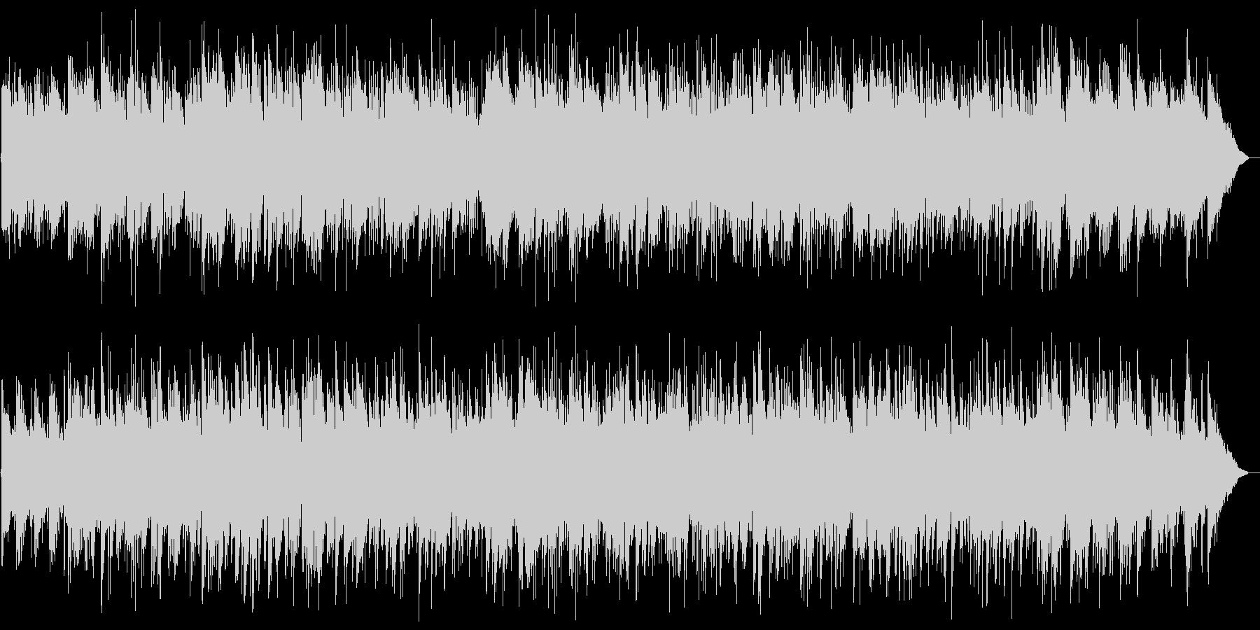 軽やかで清らかなアコギサウンドの未再生の波形