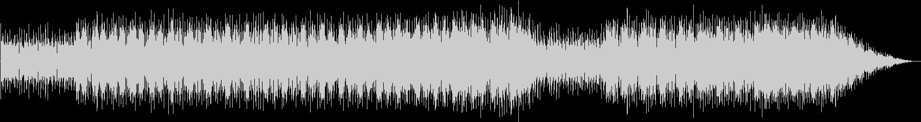80sアジアンテイストシンセミュージックの未再生の波形