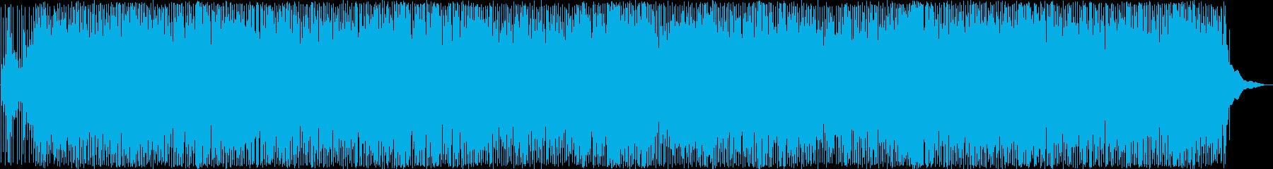 楽しげなカントリーミュージックの再生済みの波形