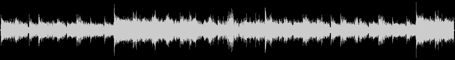 アミューズメント向けのループBGMの未再生の波形