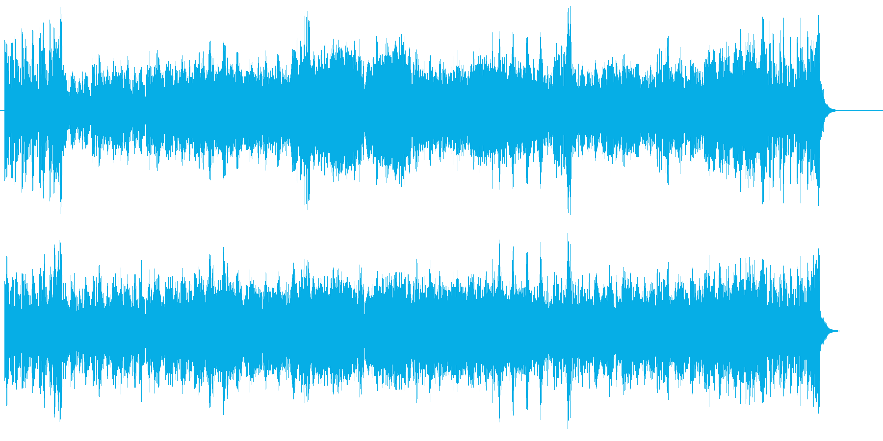 雄大さを想像させるスカイ・ハイなサウンドの再生済みの波形
