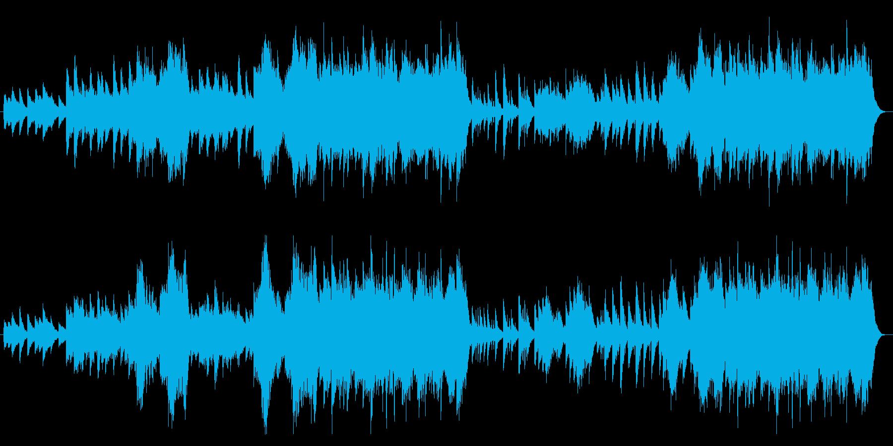 [和風] 弦と木管 古都 緑茶 清流 の再生済みの波形