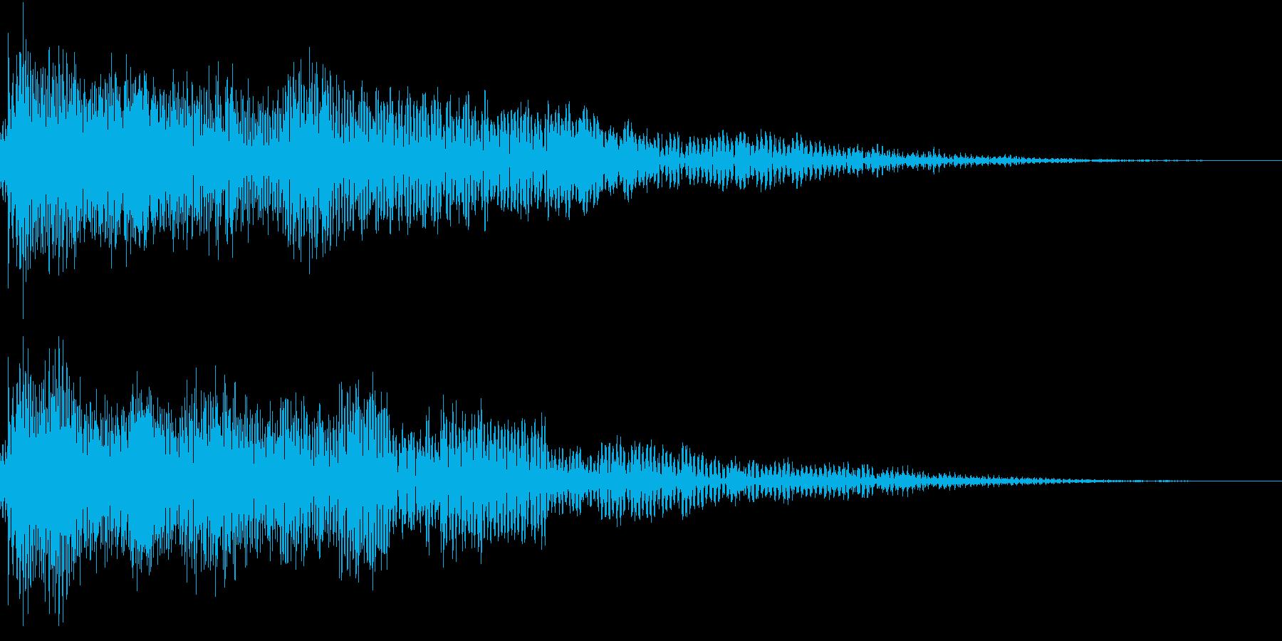 InvaderBuzz 発砲音 2の再生済みの波形