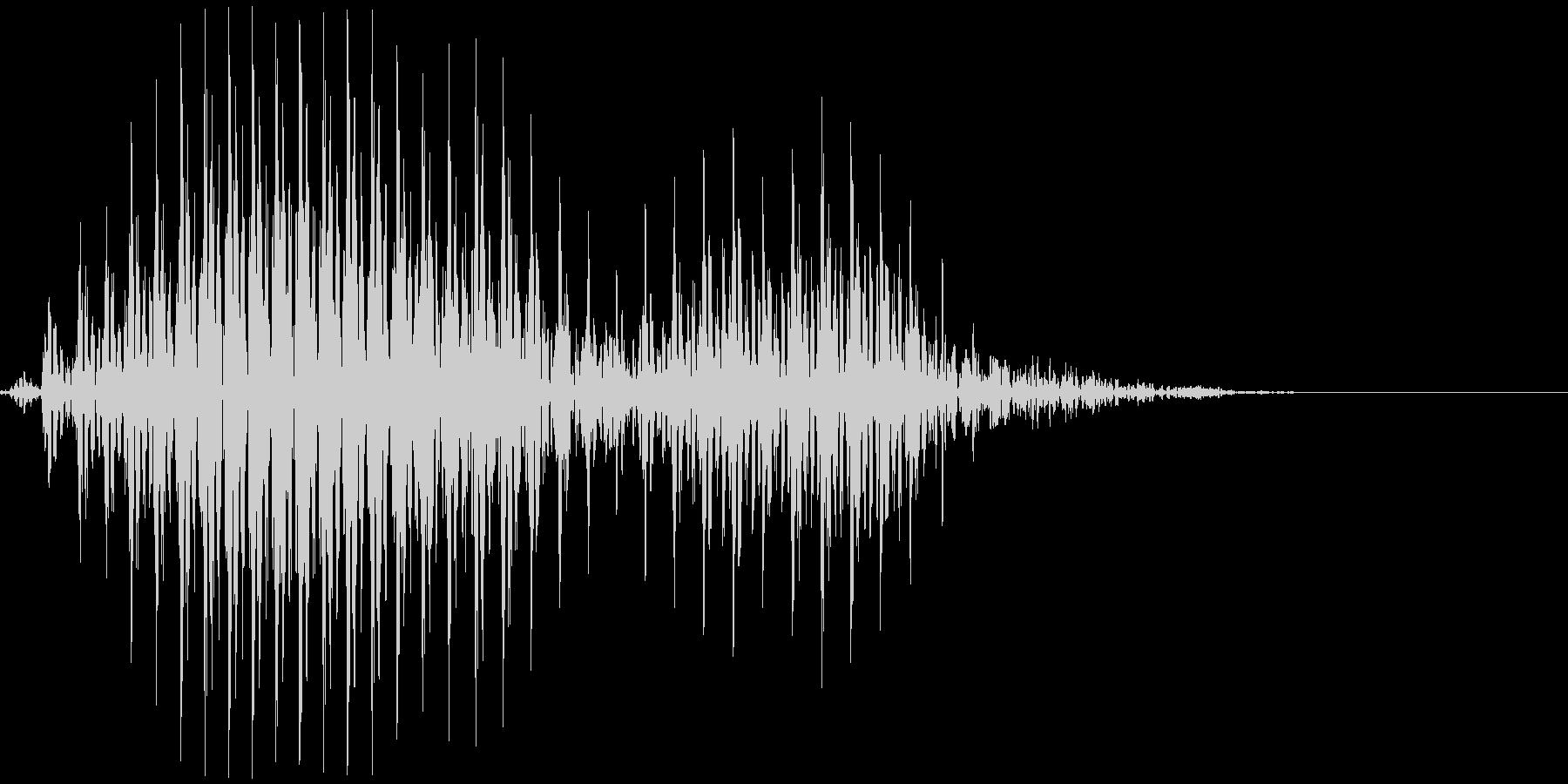 アメリカ人男性 Aah(アーハ)の未再生の波形