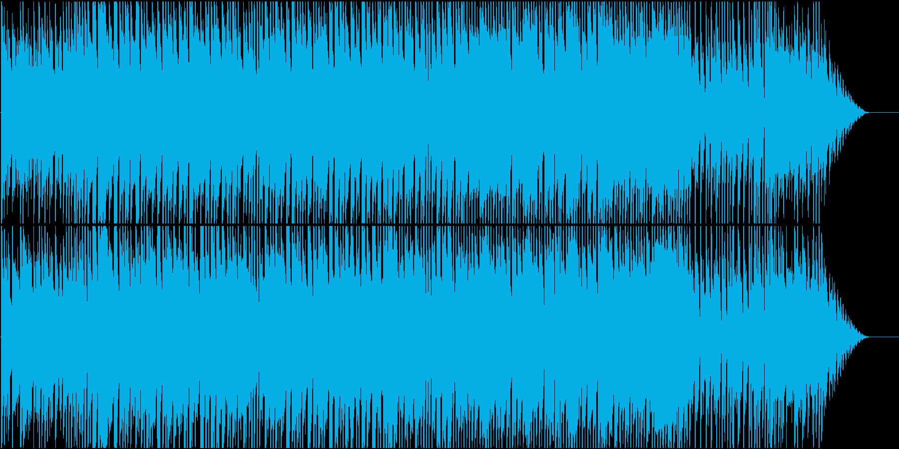 子供のころ遊んでいた思い出のようなBGMの再生済みの波形