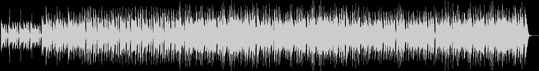 ラフなノリでアンニュイなメロディーの曲の未再生の波形