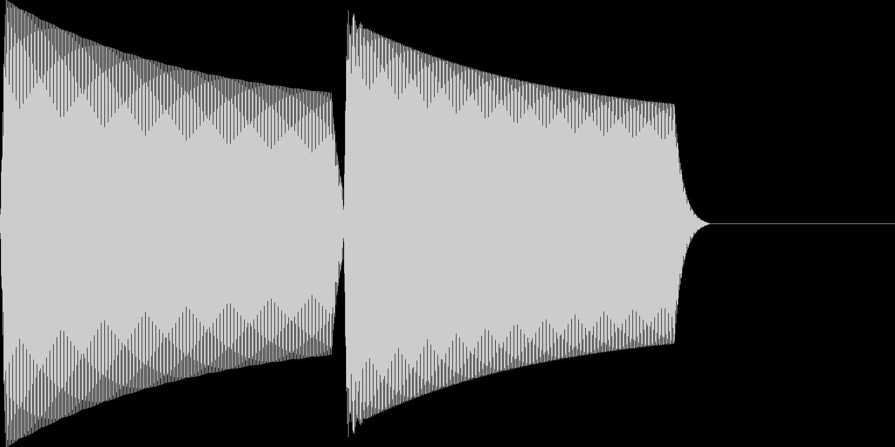ピコ(click_001_決定)の未再生の波形