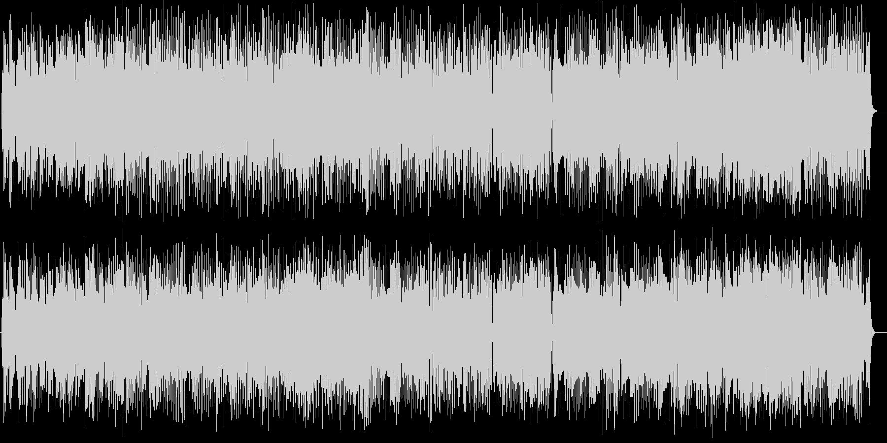爽快で勢いのあるシンセピアノサウンドの未再生の波形