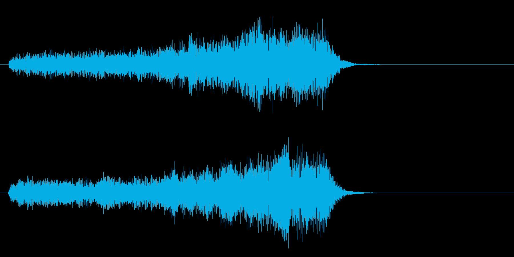 重力場の再生済みの波形