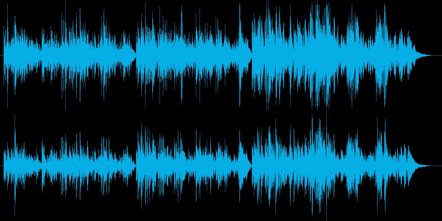 ホタルが飛んでいそうな日本の夏に似合う曲の再生済みの波形