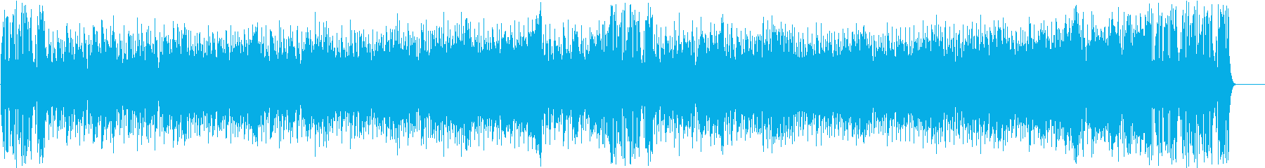 ゆったりしたエンディング(フルサイズ)の再生済みの波形