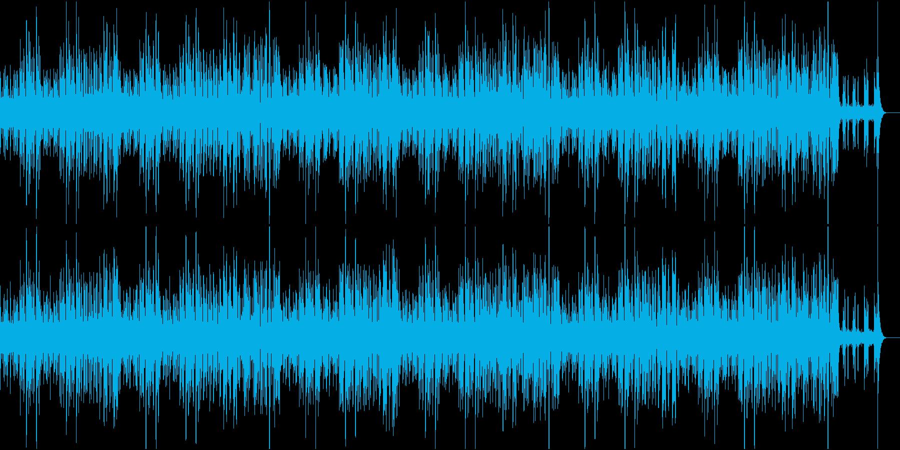 シンプルで軽やかなジャズの再生済みの波形