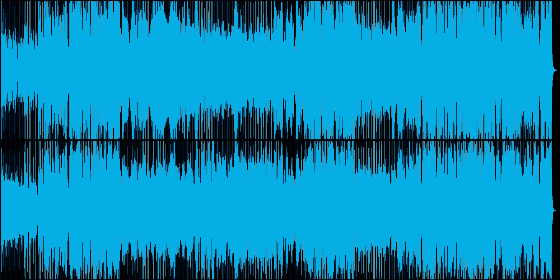 映画音楽的クールなホーンのジャズ風楽曲の再生済みの波形