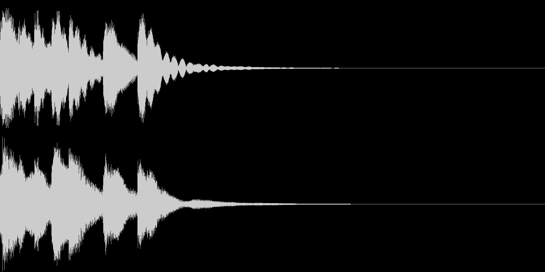 シンプル ベル チャイナ 中国風 17の未再生の波形