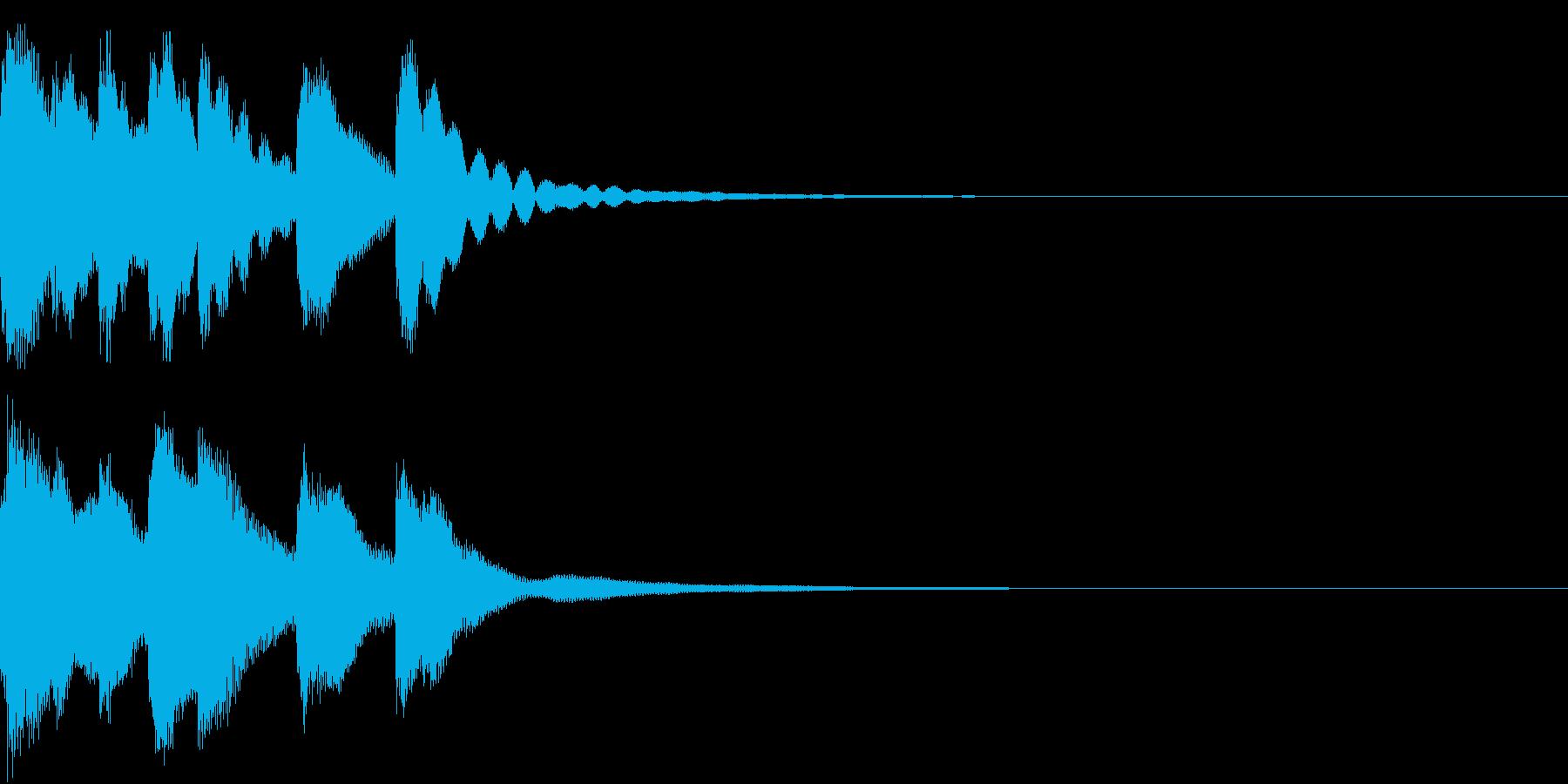 シンプル ベル チャイナ 中国風 17の再生済みの波形