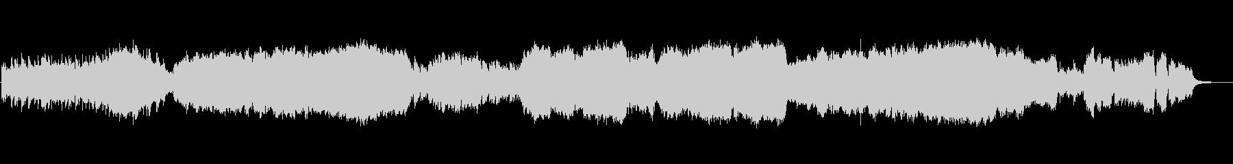フォーレ ラシーヌ雅歌 ピアノと弦の未再生の波形