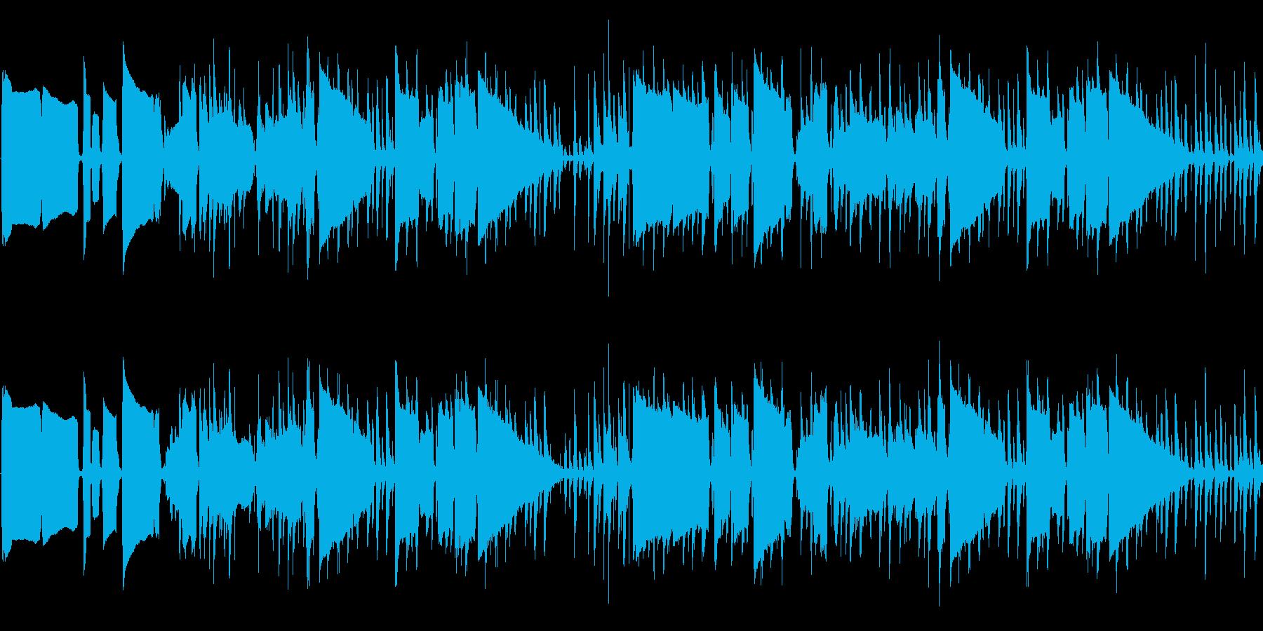 【アップテンポ/サックスJAZZ】の再生済みの波形