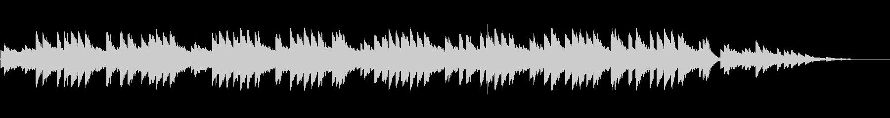 8bitクラシック-歌の翼に-の未再生の波形