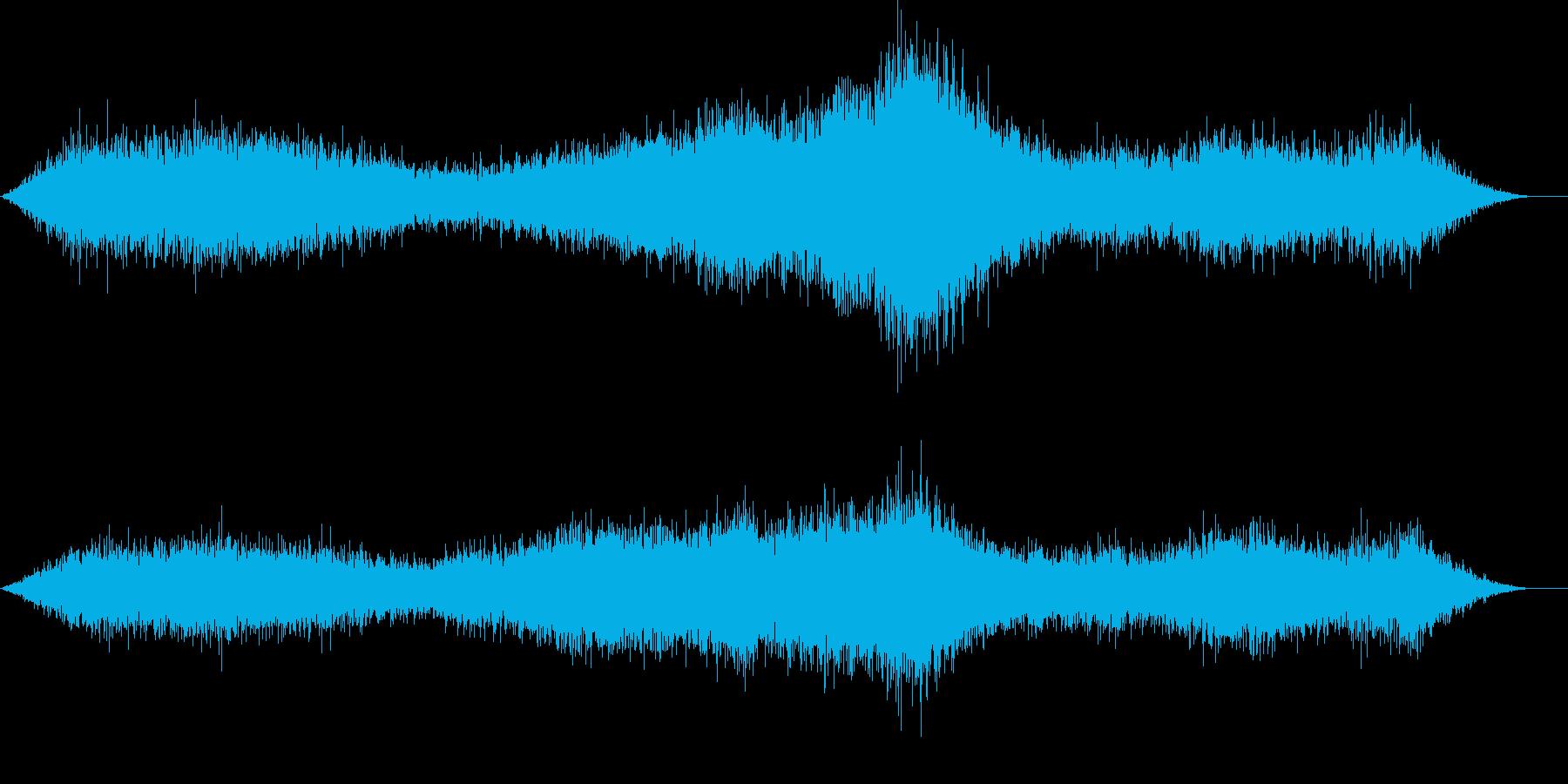 ひゅー ぴゅーの再生済みの波形