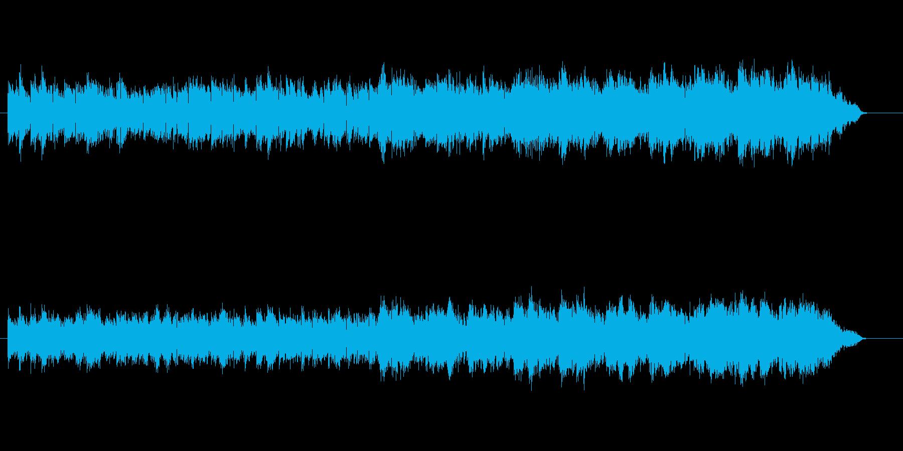 さわやかなアコースティック・サウンドの再生済みの波形