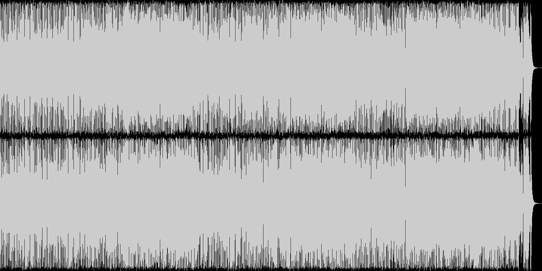 フットルース風のアメリカンロックの未再生の波形