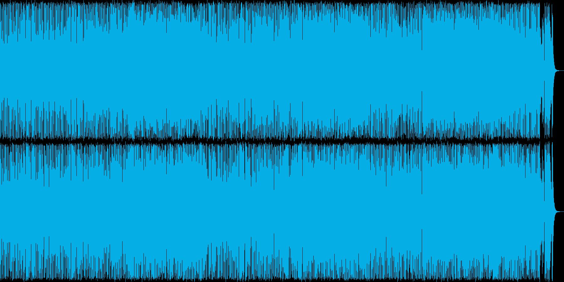 フットルース風のアメリカンロックの再生済みの波形