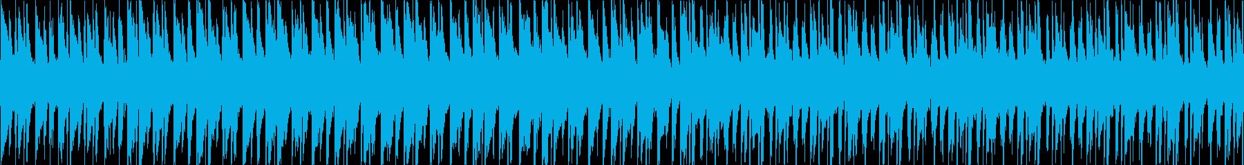 【ループ版】冬のショッピング、ワクワク感の再生済みの波形